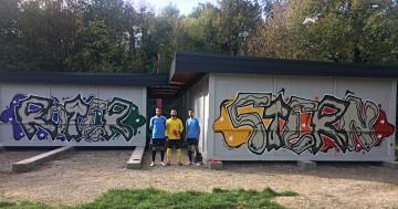 Die Fünfte und das neue Graffito!